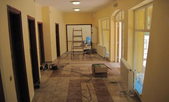 Művelődési ház beruházás